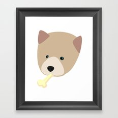 Bad Lobo Framed Art Print