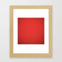 Christmas Red Framed Art Print