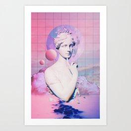 Think Wave Art Print
