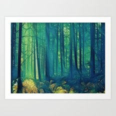 Eyes On The Forest, Not On The Trees. Art Print