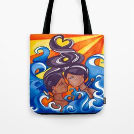 Two Lovers of Guam Tote Bag