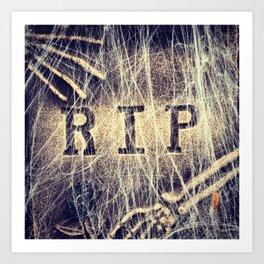 Signs: RIP Art Print