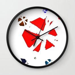 Spectral Balls Wall Clock