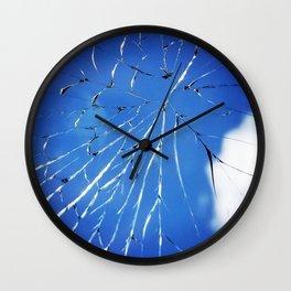 Shattered But Not Broken Wall Clock