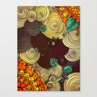 earth Canvas Prints featuring Earth by DuckyB