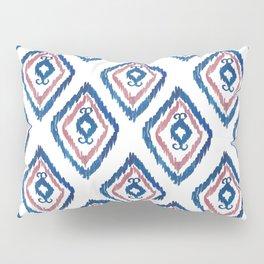 Rugged Royal - aztec watercolour pattern Pillow Sham