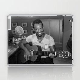 Cuban Guitarist Laptop & iPad Skin