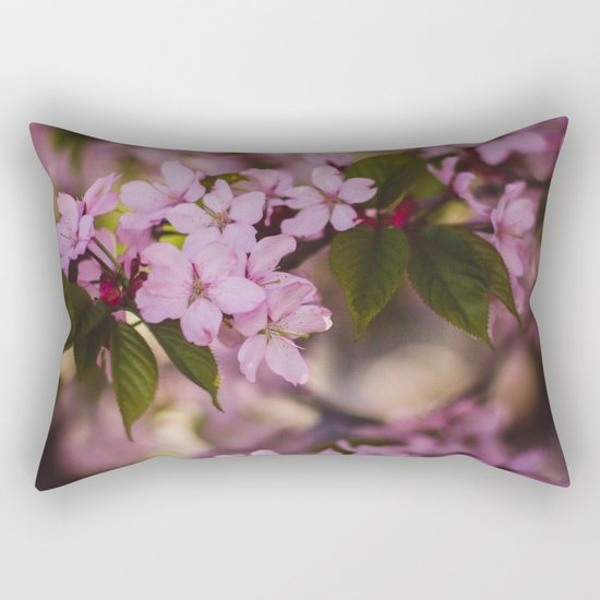Beauty of Spring IV Rectangular Pillow