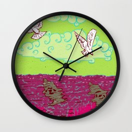 Peace & War Wall Clock