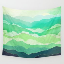 Emerald Spring Wall Tapestry