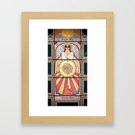 Pray the Helix Framed Art Print