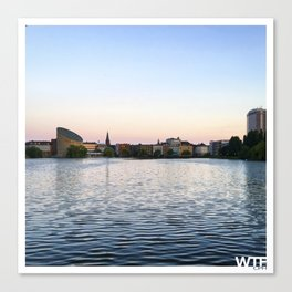 The Lakes Evening Canvas Print