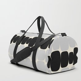 Abstraction_Balance_ROCKS_BLACK_WHITE_Minimalism_001 Duffle Bag
