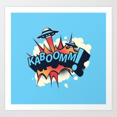 KABOOMM! Art Print