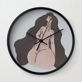 Beauty of Womanhood Wall Clock