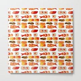 Sushi vibes Metal Print