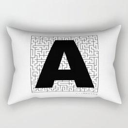A-Maze-ing Rectangular Pillow