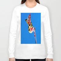 maryland Long Sleeve T-shirts featuring Maryland Pride by Kelsey Hunt