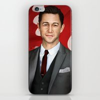 inception iPhone & iPod Skins featuring Inception - Arthur by Mel Hampson