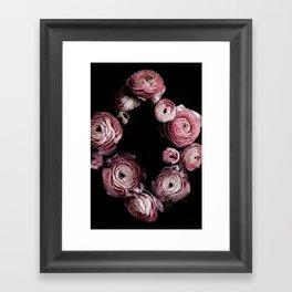 Blooming Geometry 1 Framed Art Print