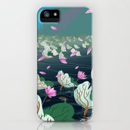 A Sudden Breeze iPhone Case