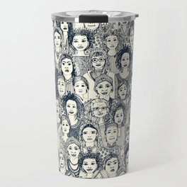 WOMEN OF THE WORLD INDIGO Travel Mug