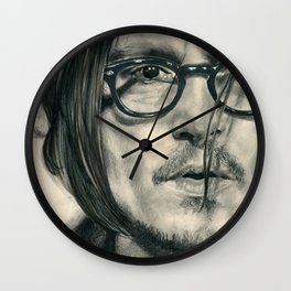 Secret Window Traditional Portrait Print Wall Clock