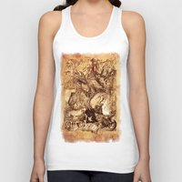 medieval Tank Tops featuring Medieval by TheMagicWarrior