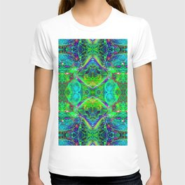 Techno Electric III (Ultraviolet) T-shirt