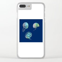 Jellyfish Clear iPhone Case