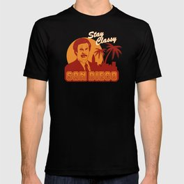Stay classy San Diego the anchorman T-shirt