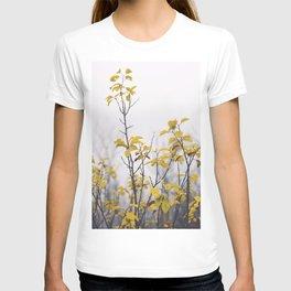 Yellow Leaves No2 T-shirt