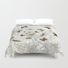 The Buttefly Effect - Antarctic Edition Duvet Cover
