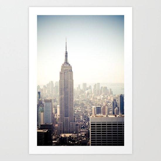 New York City | Empire State Building Art Print