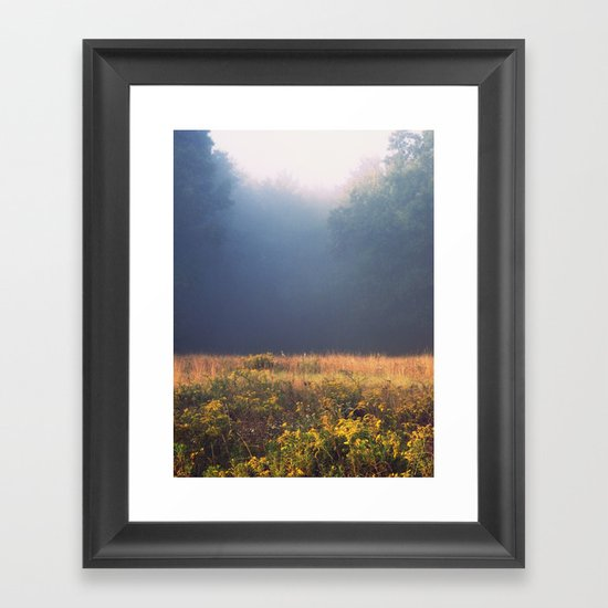 Mother Nature's Palette Framed Art Print