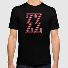 The Grand Budapest Hotel ( Pink ) Mens Fitted Tee MEDIUM Black