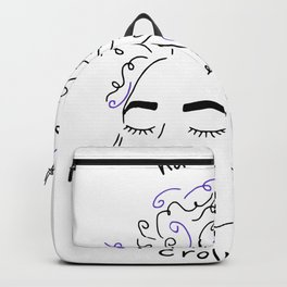 hands off my crown of curls Backpack