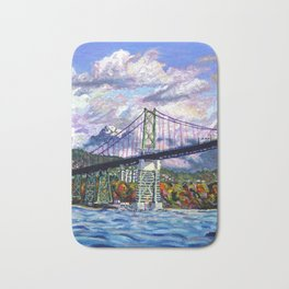 The Lions Gate, Vancouver Bath Mat