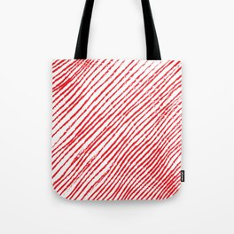 Candy Cane (The raw version) - Christmas Illustration Tote Bag