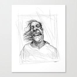 An Ugly Man Canvas Print