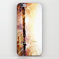 Boats and Lights iPhone & iPod Skin