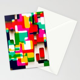 Arcade Crayon Collage Stationery Cards