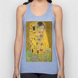Gustav Klimt The Kiss Unisex Tank Top