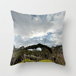 Nature is Life Throw Pillow