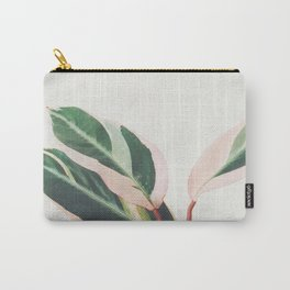 Pink Leaves III Carry-All Pouch