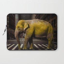 Elephant in New York Laptop Sleeve