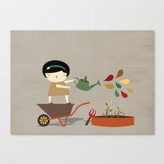 Assistant Canvas Print