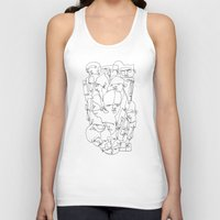balance Tank Tops featuring Balance by 5wingerone