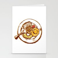 dessert Stationery Cards featuring Dessert by EGARCIGU