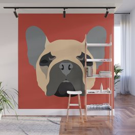Frenchy Wall Mural